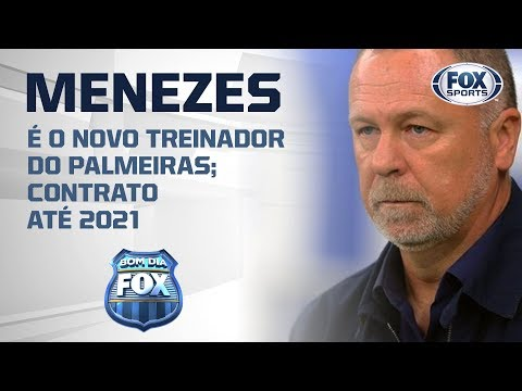 MANO MENEZES É NOVO TREINADOR DO PALMEIRAS!