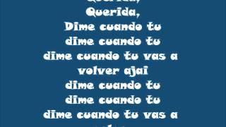 Querida - Juan Gabriel (Letra)