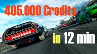 Fast MONEY in GT Sport - 405.000 Cr. in 12 min (1.28 UPDATE)
