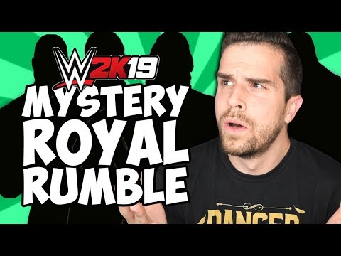 WWE 2K19 30 MAN ROYAL RUMBLE but I have no idea who's in it...