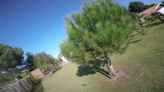 First fly on a tango 2 #fpvfreestyle freestyle backyard 5inch. ????????????