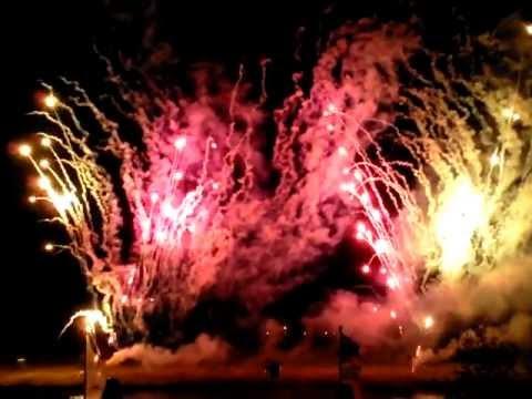 Vuurwerkshow Cuijk 4Daagse 2013