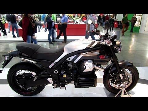 2014 Moto Guzzi Griso 1200 8V SE Walkaround - 2013 EICMA Milan Motorcycle Exhibition