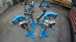 Metalwork Monday 4 - Stronghand Tools 3 Axis Vice Fixture Fabrication