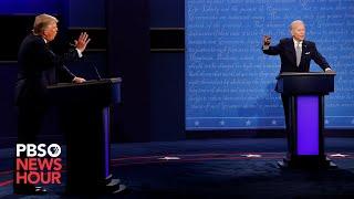 WATCH: The first 2020 presidential debate