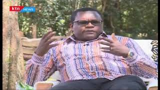 Senate Speaker Kenneth Lusaka speaks about his experience at the Senate