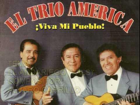 TRIO AMERICA  Interpretando EL ANDARIEGO,CENIZAS,ENDE QUE TE VI,ALMA LLANERA