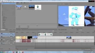 Poradnik - Sony Vegas Pro 12 - Montaż , cięcia , efekty , rendering :) #2