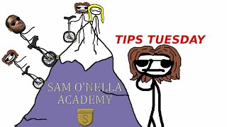 TIME TO UNICYCLIZE! TIPS TUESDAY-SAM O NELLA REACTION
