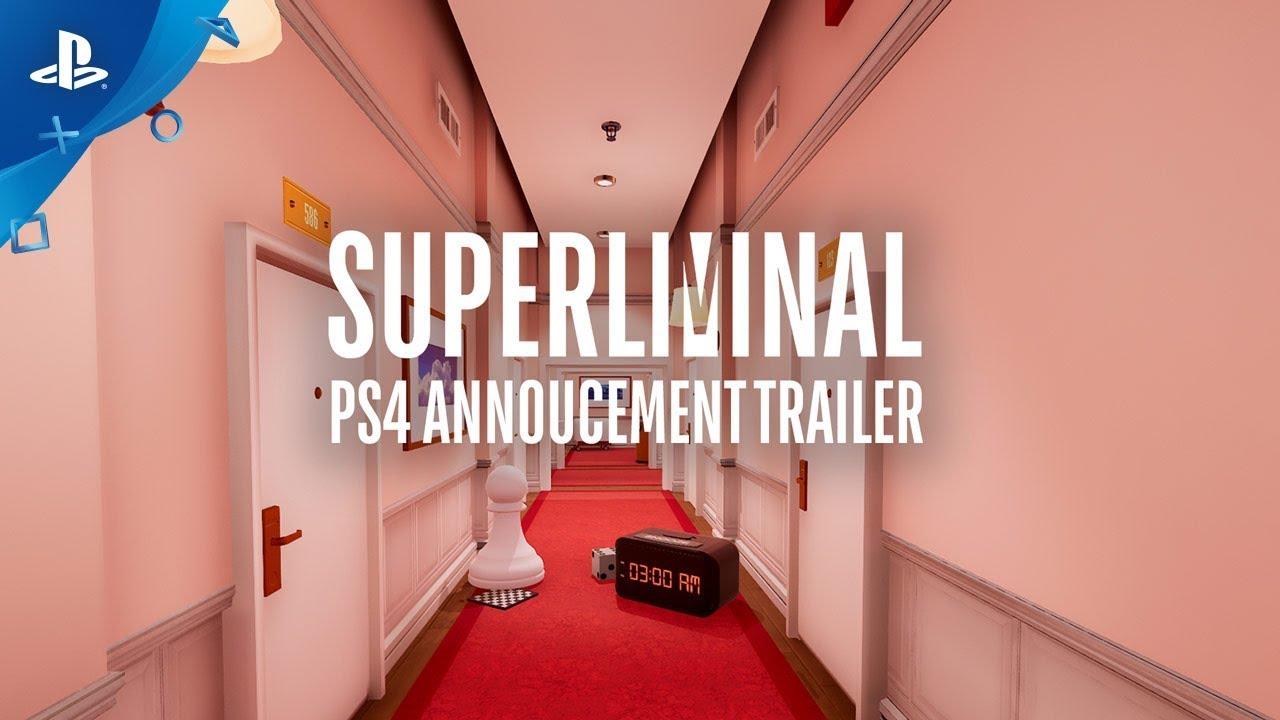 La percezione è la realtà: Superliminal sta arrivando su PS4