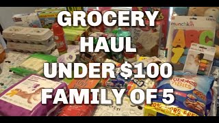 Target Grocery Haul-Family Of 5 Under $100-Gina Schweppe