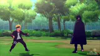 Sasuke Training Boruto & Sarada (English Dub) - Naruto Storm 4 Road To Boruto Movie