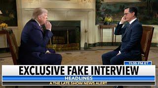 Stephen Colbert's Interview Of Fox News' Interview Of President Trump