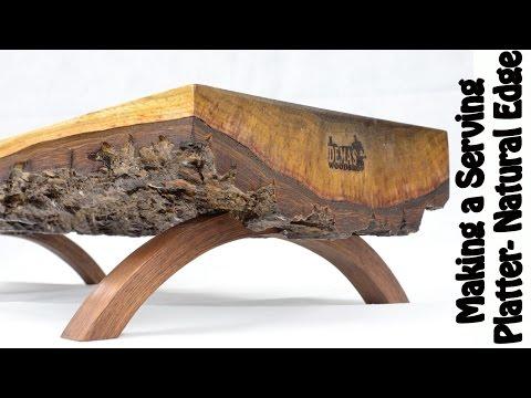 Servierplatte aus Walnussholz - Der Hingucker auf dem Esstisch