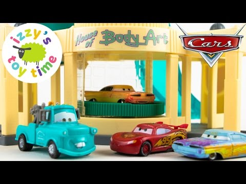 Cars for Kids | Disney Pixar Cars Ramone's Color Changer Playset - Fun Toy Cars for Kids