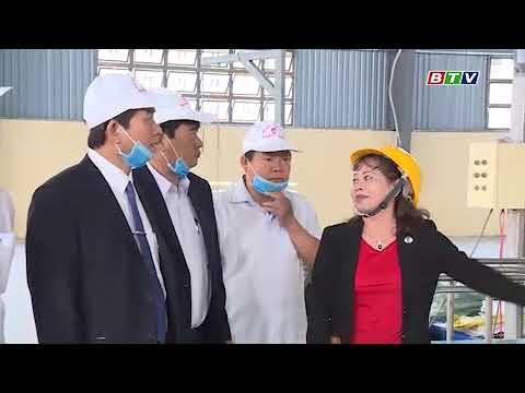 Phó Chủ Tịch tỉnh Trần Châu thăm, chúc tết nhà máy Nhật - Nam
