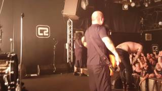Fear Factory - HK (Hunter Killer) stage view live Brighton August 2016