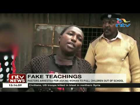 Pastors arrested for asking woman to pull children out of school