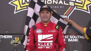 360 Knoxville Nationals Victory Lane - August 8, 2020