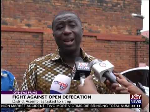 Fight against open defeciation - JoyNews Prime (19-9-18)