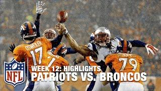 Patriots vs. Broncos   Week 12 Highlights   NFL