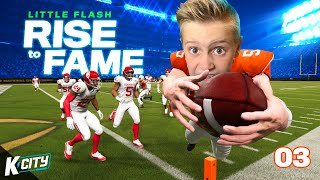 FIGHT for YOUR SPOT! Little Flash: Rise to Fame in Madden NFL 21 Part 3! K-CITY GAMING