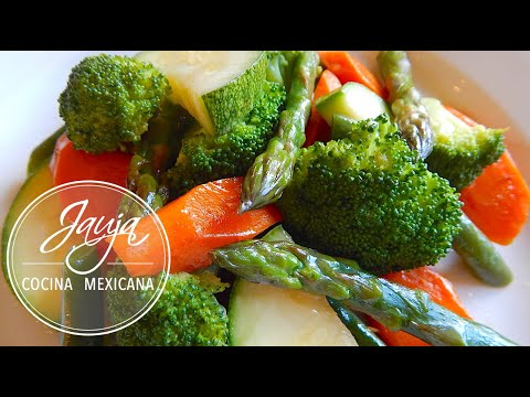 Verduras al Vapor con Mantequilla