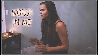 Julia Michaels   Worst In Me (Tiffany Alvord & Will Champlin Cover)