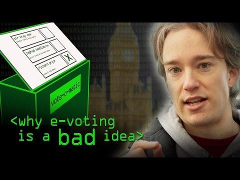 Problémy elektronických voleb