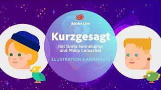 Animation mit Greta Sennekamp [KURZGESAGT] - Adobe Live 3/3