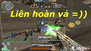 [ Bình Luận CF ] VIP mới nhất - AK47-Knife Steel Empire - Tiền Zombie v4