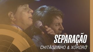 Chitãozinho e Xororó, Separação (40 anos sinfonico)