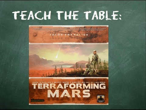 How to play Terraforming Mars in 16 minutes