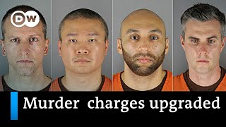 Murder charges in George Floyd case upgraded +++ Spotlight on systemic racism   DW News