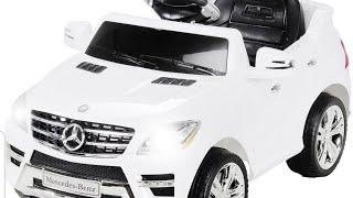 1 x ACTIONBIKES MOTORS Elektroauto »Mercedes ML 350«, für Kinder ab 3 Jahre, 6 Volt