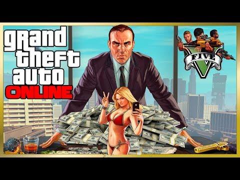 GTA 5 Online РОБОТА НА ШЕФА