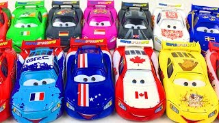 Lightning McQueen Cars Disney New Toys Country Style Cartoon for Kids