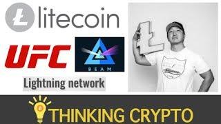 Interview: John Kim Chief Evangelist Litecoin Foundation - UFC & Beam - Halving & Lightning Network