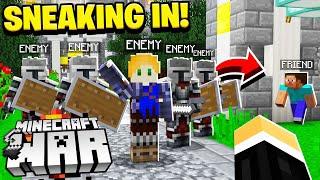 when you distract an entire Minecraft team.. so a friend can raid them!