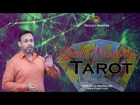 Learn Tarot Card Secrets in 5 minutes by Occult Master !!