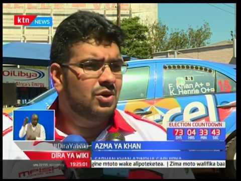 Dereva Farhan Khan azindua gari mpya atakayo tumia katika msimu huu wa mashindano ya magari