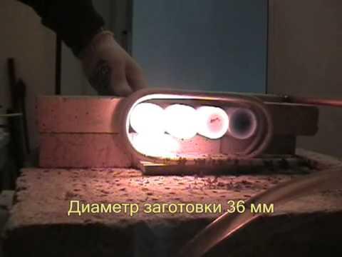 Индукционный кузнечный нагреватель на ВЧ-60АВ