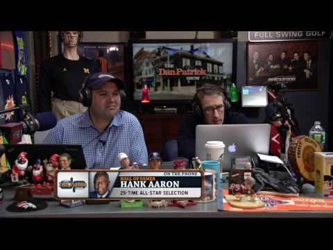 Hank Aaron on The Dan Patrick Show (10/28/16)
