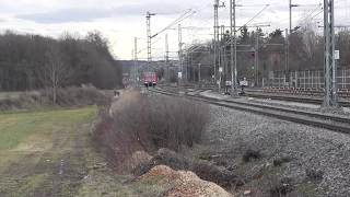 preview picture of video 'Zorneding 25.12.2013 mit Meridian-Zügen, IC, Railjet und S-Bahnen'