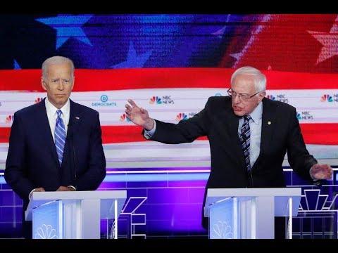 Bernie Brutalizes Biden In Top 3 Candidate Slugfest