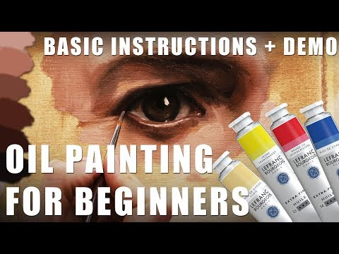 oil painting tutorials by florent farges