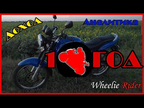 Год Каналу/Доход/Аналитика/С Днём Рождения, Wheelie Rider!