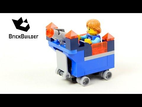 Vidéo LEGO Nexo Knights 30372 : Le mini Fortrex de Robin (Polybag)
