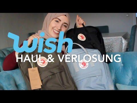 Wish HAUL & VERLOSUNG  | 100€ Tasche für 15€ | Hijabflowers