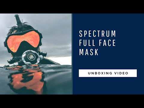 OTS SPECTRUM FULL FACE MASK UNBOXING AND FIRST LOOK